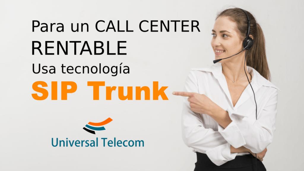 SIP Trunk Call Center